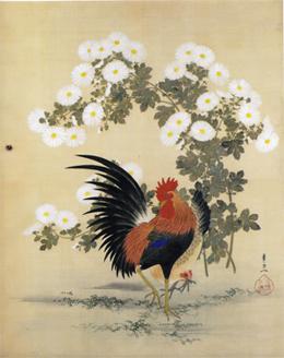 鶏と菊花s.jpg